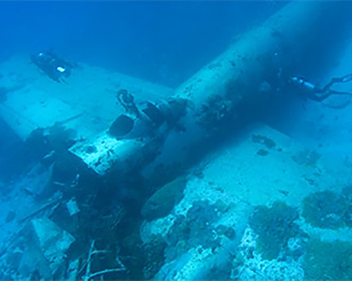 Chuuk Airplane Wreck Dive
